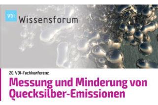 VDI-Fachkonferenz Messung und Minderung von Quecksilber-Emissionen