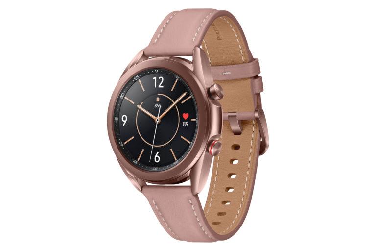 Die Galaxy Watch3 überzeugt durch Tragekomfort.<br />Foto: Samsung