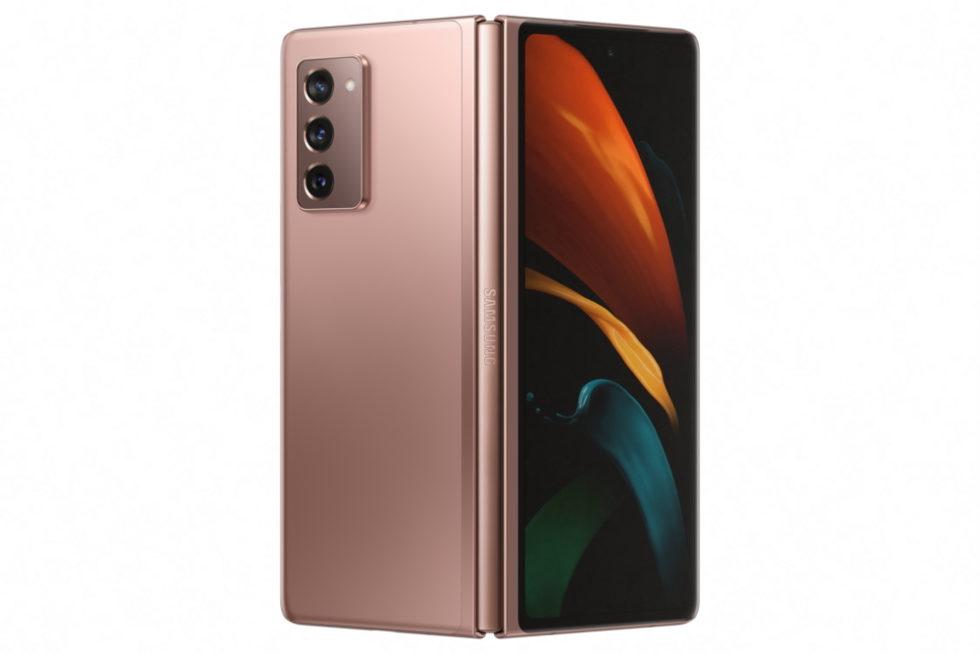 Faltbares Galaxy Smartphone