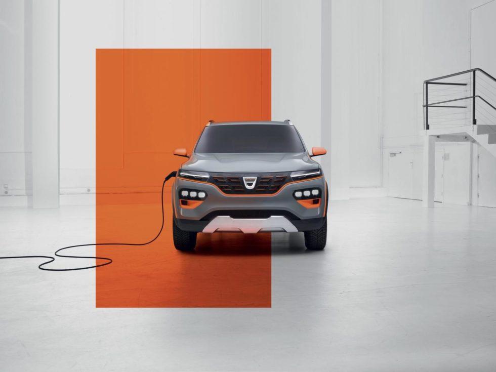 Dacia Spring Vorderfront