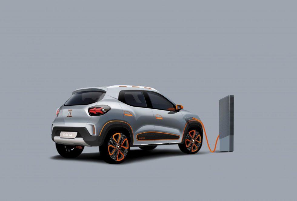 Dacia Spring seitlich