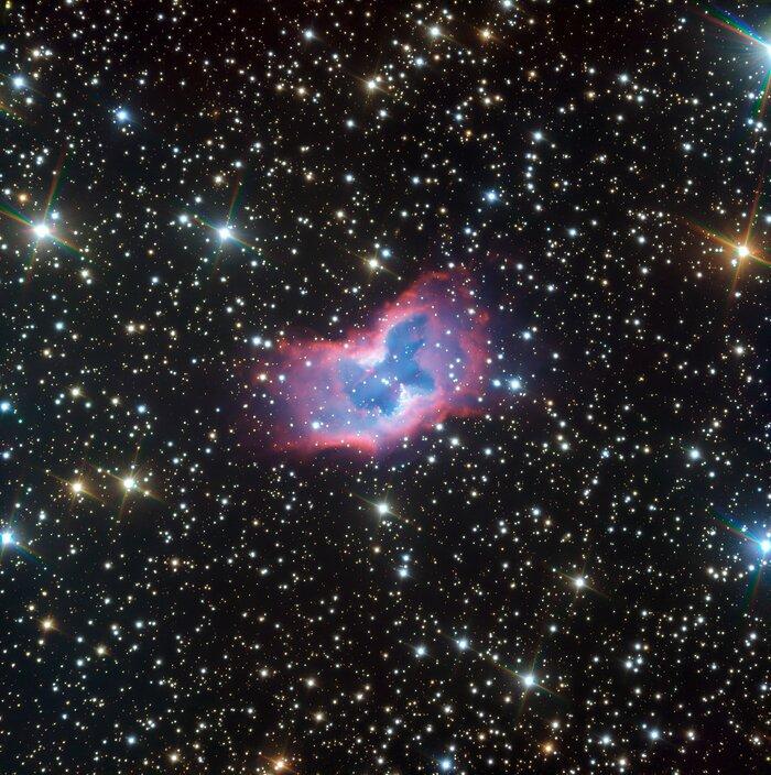 Bild des planetarischen Nebels NGC 2899