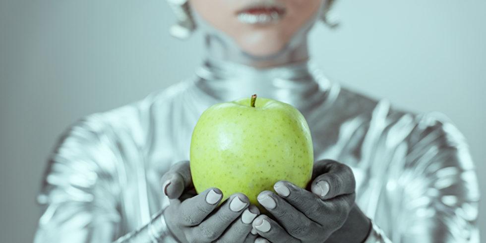 Grün nahaufnahme halten person silber mädchen weiblich jung