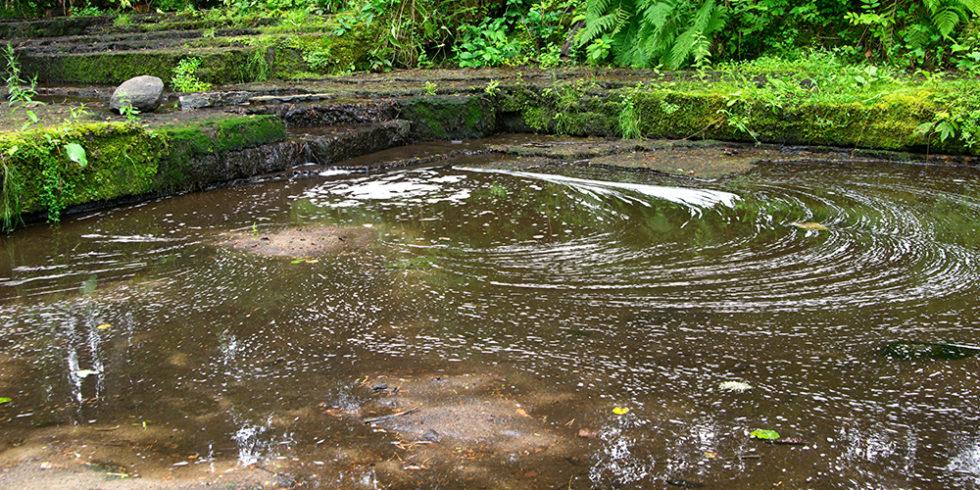 verschmutzter Fluss