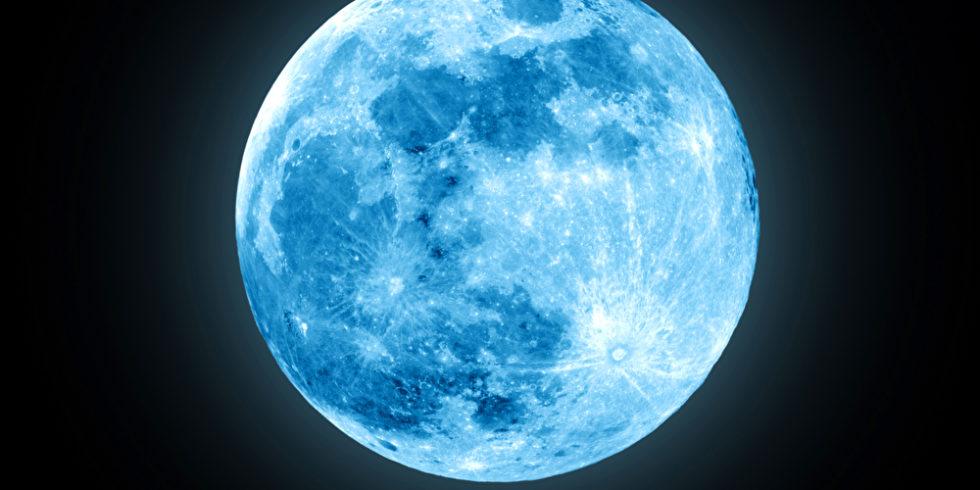 Der Vollmond muss nicht zwangsläufig blau leuchten, um ein Blue Moon zu sein. Foto: panthermedia.net/danielkrol85