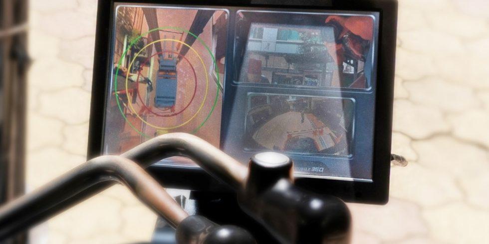 Intelligente Assistenz- und Sicherheitssysteme senken das Unfallrisiko mit Materialtransportwagen in Logistikzentren. Foto: VIA Technologies