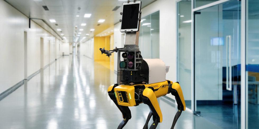 Roboter im Flur
