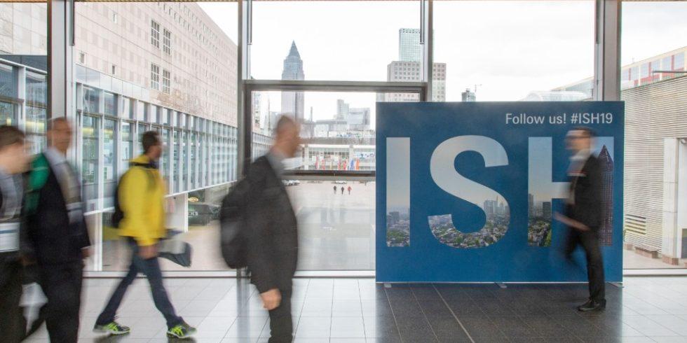 Keine ISH am Frankfurter Messeturm: Aufgrund erneut steigender Infektionszahlen wird die Leitmesse 2021 ausschließlich digital stattfinden. Foto: Messe Frankfurt Exhibition GmbH/Jochen Günther