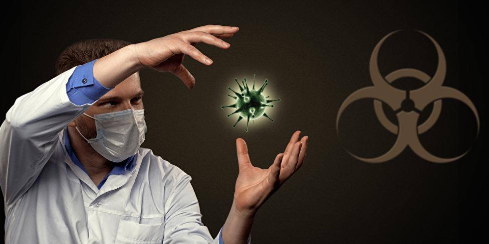 Symbolbild Arzt Virus