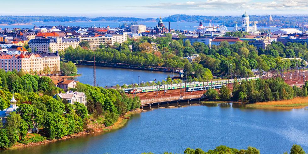Luftbild Helsinki