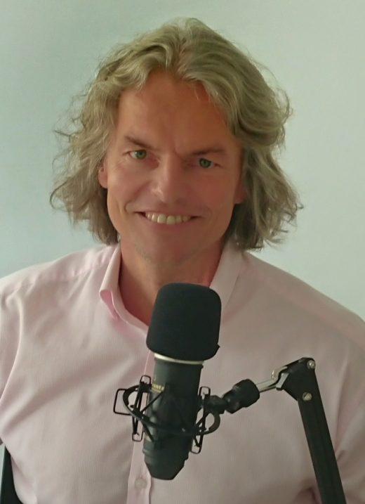 Stefan Asche, Moderator Podcast Druckwelle