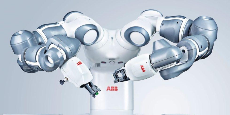 zweiarmiger Roboter von ABB