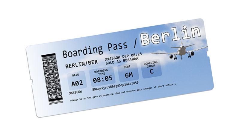 Wird so ein Ticket bald Wirklichkeit? Foto/Montage: panthermedia.net/Francescoscatena