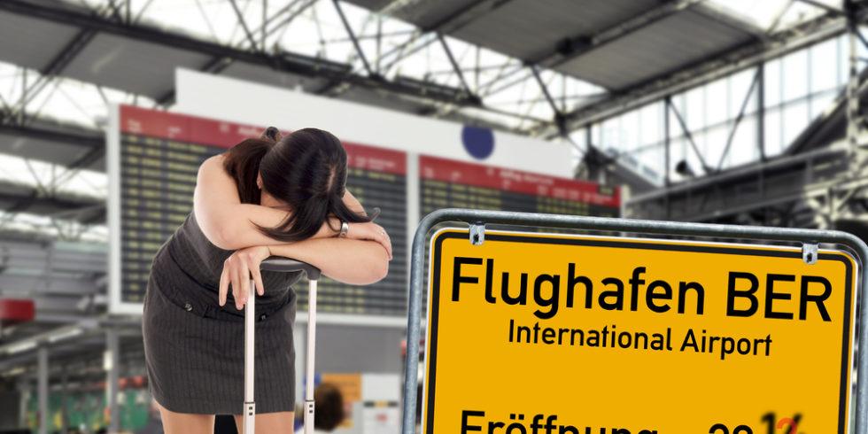 Der Willy-Brandt-Flughafen Berlin-Brandenburg BER: Eigentlich sollte er schon vor vielen Jahren eröffnet werden ... Foto: panthermedia.net/photographyMK
