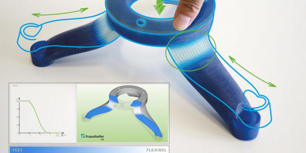 Standfuß aus 3D-Drucker