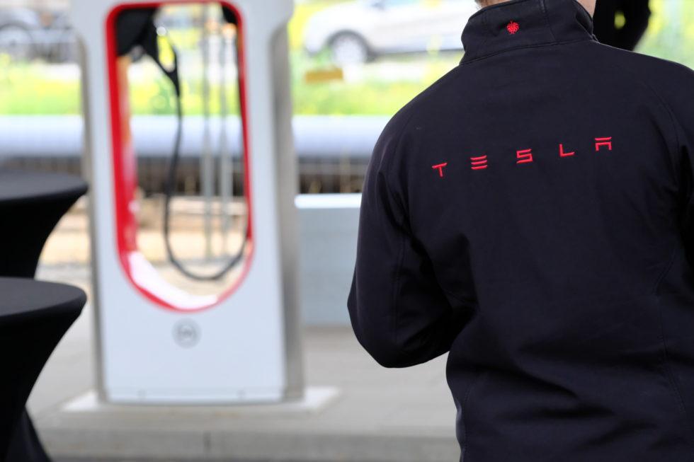 Tesla: Im neuen Werk bei Berlin sollen besondere Batterien produziert werden. Foto (Archivbild): Peter Sieben