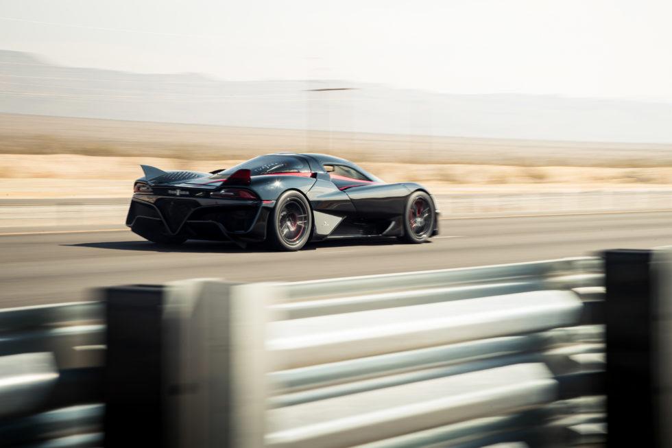 Das schnellste Serienauto der Welt. Foto: SSC North America
