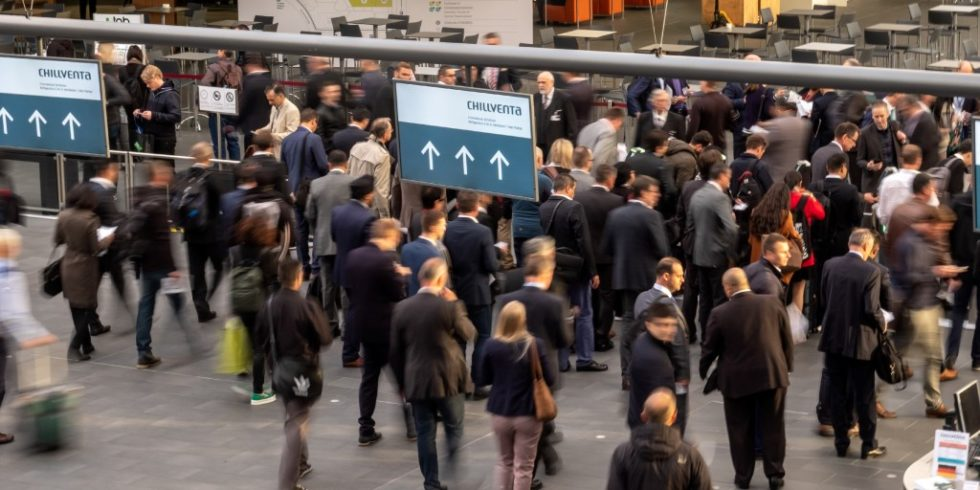 In diesem Jahr bleibt der Andrang auf dem Nürnberger Messegelände aus: Die Chillventa 2020 findet ausschließlich digital statt. Foto: NürnbergMesse/Thomas Geiger