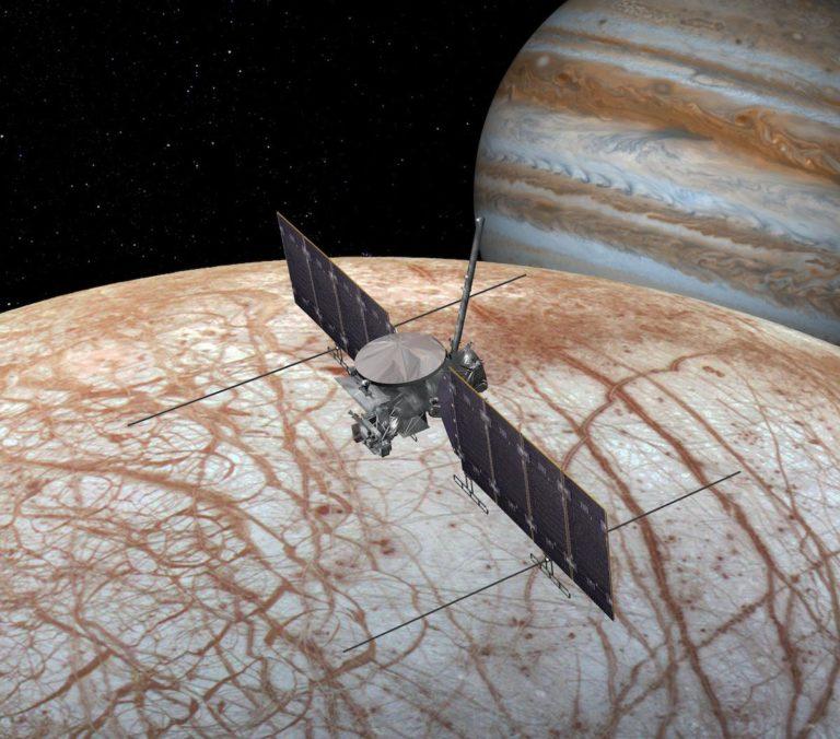 Die Sonde Europa Clipper soll 2024 starten. Foto: NASA/JPL-Caltech