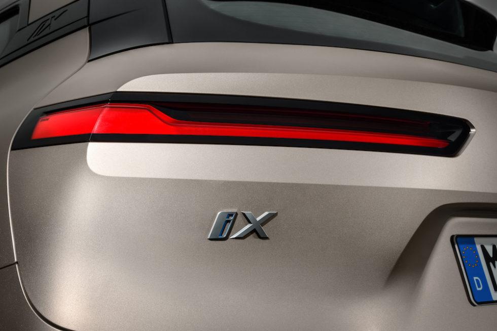 Heck des neuen BMW iX