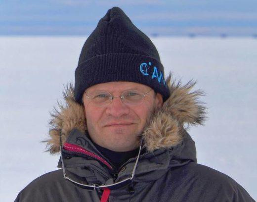 Markus Rex, Leiter der Arktis-Expedition.<br />Foto: Alfred-Wegener-Institut
