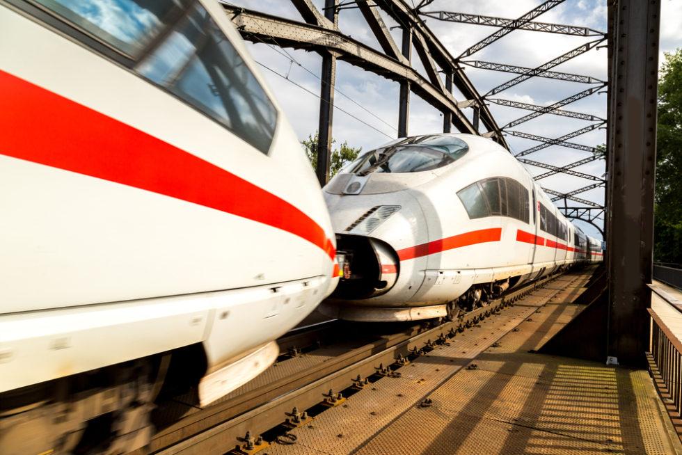 Intercity Bahnstrecke