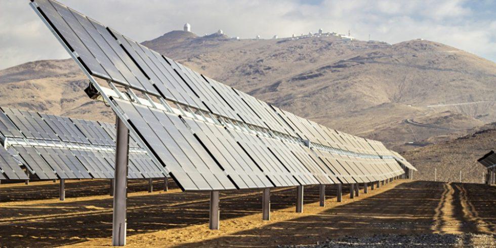 Einer der besten Ort für Sonnenenergie ist die Atacama-Wüste im Norden Chiles. Foto: PantherMedia / abriendomundo