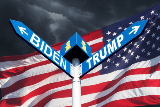 US-Wahl: Joe Biden oder Donald Trump?Foto: panthermedia.net/palinchak