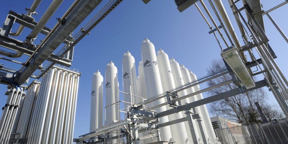 Eine Wasserstoffanlage in Köln. Foto: DLR (CC-BY 3.0)