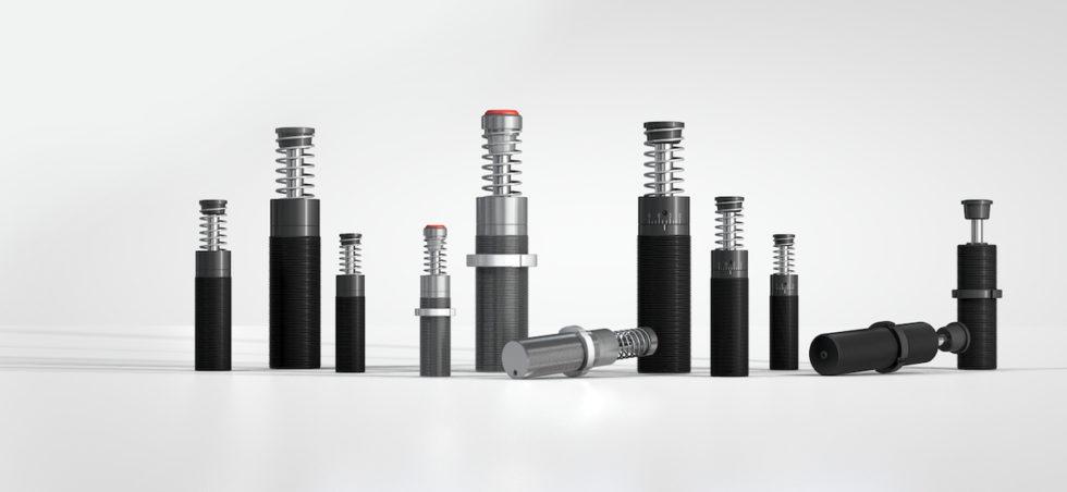 Bild 1Kleinstoßdämpfer und Industriestoßdämpfer sind weltweit in Millionen von industriellen Konstruktionen bewährte Qualitätsprodukte. Bild: ACE