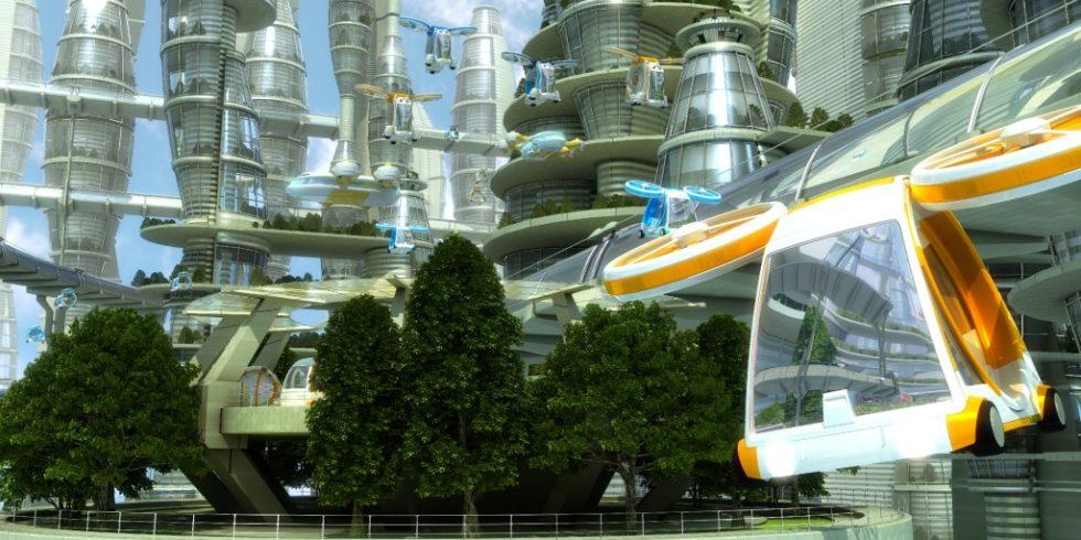 Kann neue Mobilität die Stadt der Zukunft leiser machen?  Bild: PantherMedia  / Georgemans