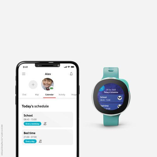 Handyscreen App und Smartwatch Neo