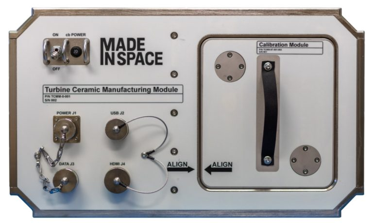 Mit dem CMM gelang zum ersten Mal 3D-Druck von Keramikteilen im Weltraum. Foto: Redwire