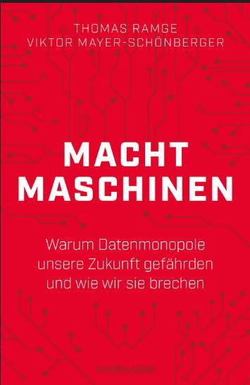 """<em>""""Machtmaschinen – Warum Datenmonopole unsere Zukunft gefährden und wie wir sie brechen"""", erschienen im Murmann-Verlag, 208 Seiten, Preis: 20 Euro.</em>"""