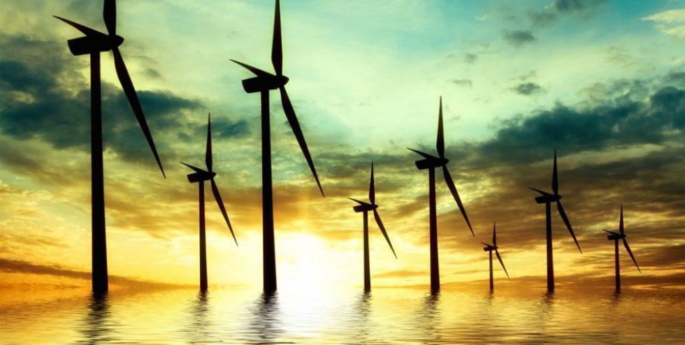 Überschüssiger Strom aus Offshore-Windkraftanlagen soll an Land in grünen Wasserstoff umgewandelt werden. Foto: PantherMedia / majaFOTO