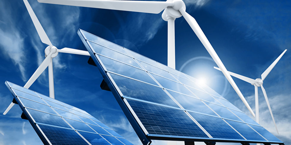 PV-Anlagen und Windkraft