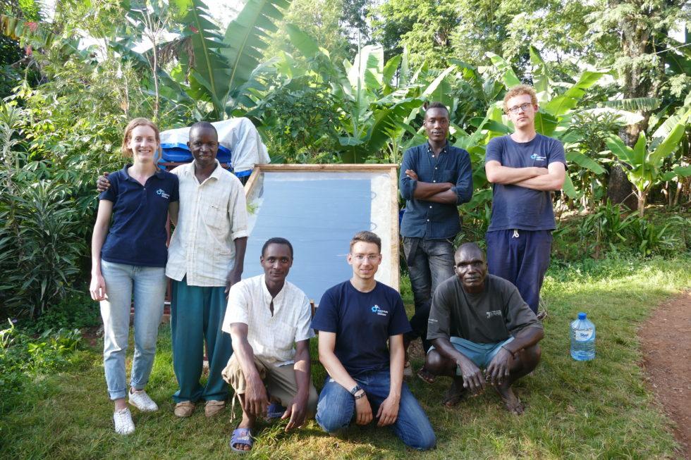 Gruppenbild Ingenieure ohne Grenzen