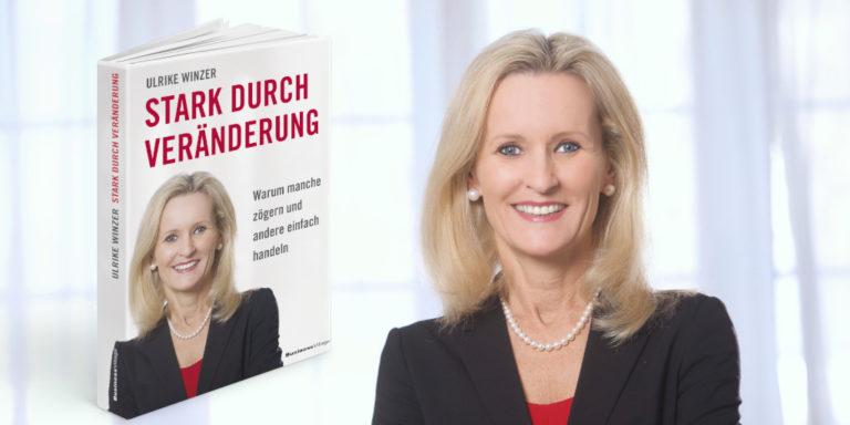 Buchcover mit Porträt Ulrike Winzer