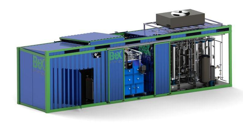 schlüsselfertigen Anlage zur Dampfreformierung
