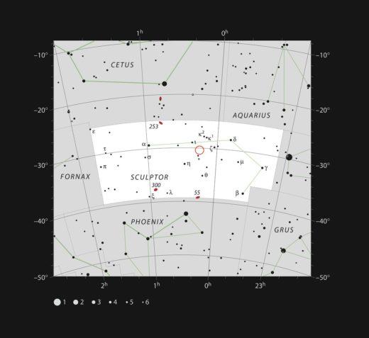 Foto: ESO, IAU and Sky & Telescope