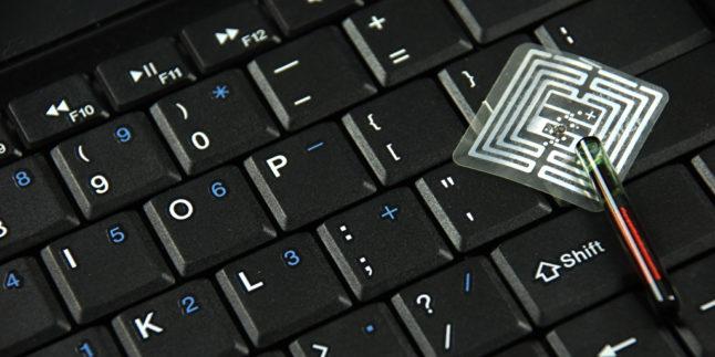 Tastatur mit Chip
