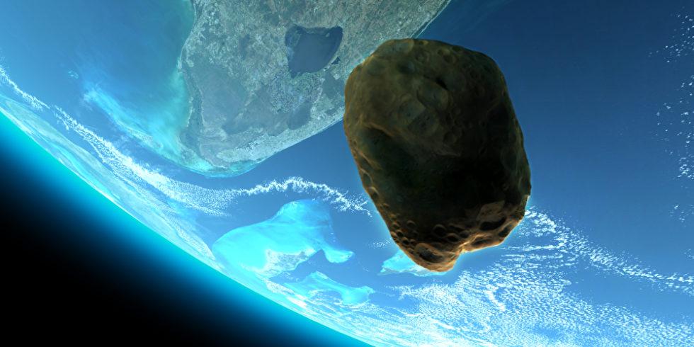 Ein Asteroid, der aus dem Weltall auf die Erde zurast: Ein äußerst unwahrscheinliches Szenario. Aber für den Fall der Fälle wollen Nasa und Esa gerüstet sein. Foto: Panthermedia.net/digitalstorm