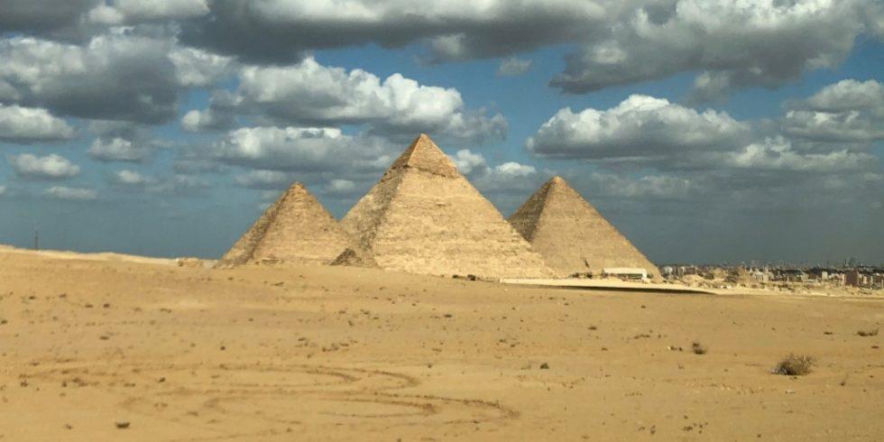 An und in der Cheops-Pyramide wurden neue zerströrungsfreie Messungen durchgeführt. Foto: Prof. Christian Große / TUM