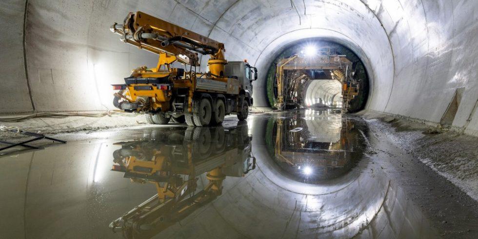 Innsbrucker Stadtviertel könnten bald durch das Drainagewasser des Brenner Basistunnel mit Energie versorgt werden. Foto: BBT SE