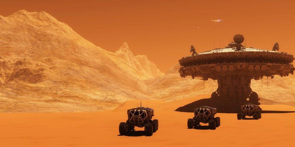 Ob so die ersten Häuser auf dem Mars aussehen werden? Ein Berliner Forscherteam meint nein. Es werden eher einfache Bauten aus Ton. Foto: panthermedia.net/Corey Ford
