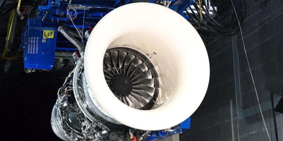Triebwerk von Rolls-Royce