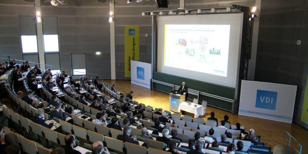 In diesem Jahr wird der Materialfluss-Kongress nicht - wie hier zu sehen - als Präsenzveranstaltung stattfinden. Foto: Rolf Müller-Wondorf