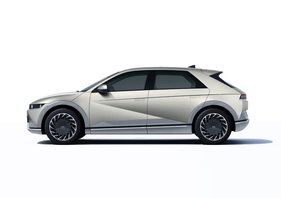 Hyundai Ioniq 5 seitlich