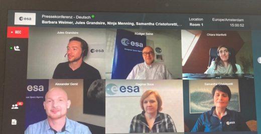 Esa-Pressekonferenz: Die Weltraumagentur sucht neue Astronauten und Astronautinnen. Foto: ingenieur.de