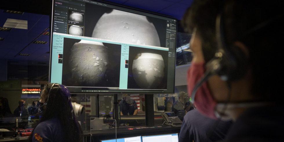 Perseverance ist auf dem Mars gelandet. Doch die Mission beginnt erst jetzt. Foto: Nasa/Bill Ingalls